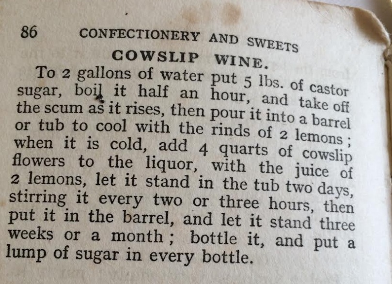 cowslipwine